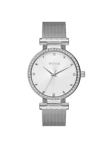 Wesse Wesse Hasır Taşlı Bayan Saati WWL102201 Renksiz